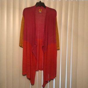Ruby Rd. Tops - Colorful cover up